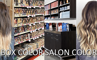 Box vs Salon Color